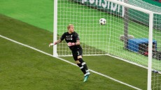 Mandatory Credit: Photo by ROBERT GHEMENT/EPA-EFE/REX/Shutterstock (9694250kf) Loris Karius UCL Final 2018 - Real Madrid vs Liverpool FC, Kiev, Ukraine - 26 May 2018 Liverpool's goalkeeper Loris Karius concedes Real Madrid's 3-1 lead during the UEFA Champions League final between Real Madrid and Liverpool FC at the NSC Olimpiyskiy stadium in Kiev, Ukraine, 26 May 2018.
