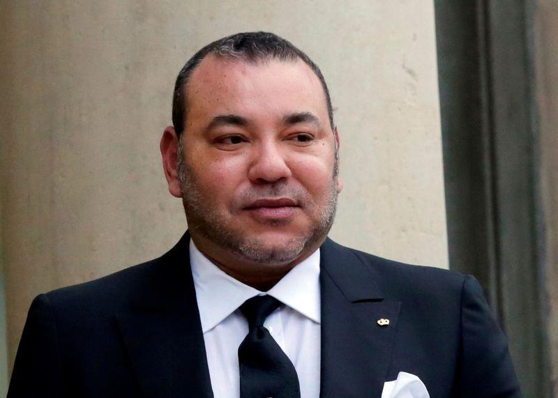 Les deux journalistes français soupçonnés d'avoir réclamé de l'argent afin de ne pas publier un livre à charge contre le roi du Maroc ont été mis en examen pour chantage et extorsion de fonds dans la nuit de vendredi à samedi. /Photo prise le 9 février 2015/REUTERS/Philippe Wojazer